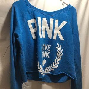 Blue VS pink sweater